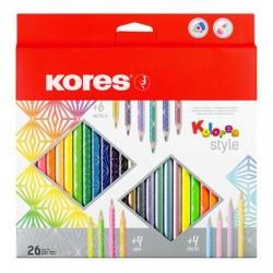 Farebné ceruzky Kolores 26...