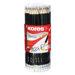 Grafitová ceruzka s gumou,...