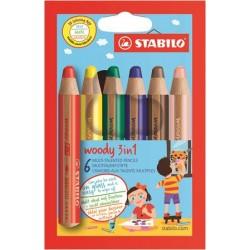 Farebné ceruzky Woody 3 in...