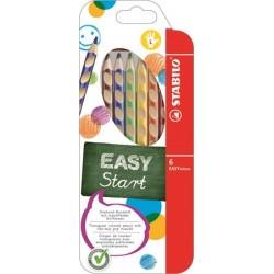 Farebné ceruzky pre ľavákov...