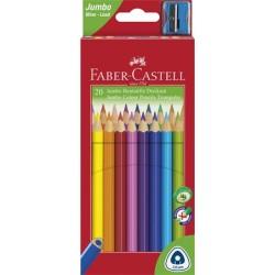 Farebné ceruzky Jumbo, 20...