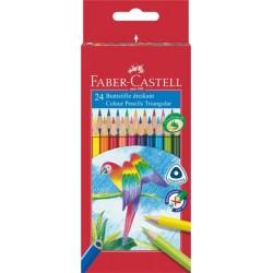 Farebné ceruzky Papagáj, 24...