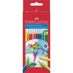Farebné ceruzky Papagáj, 12...