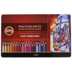 Polycolor pastelové farebné...